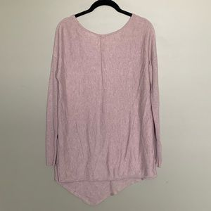 Addition Elle pink asymmetrical long sleeve XL